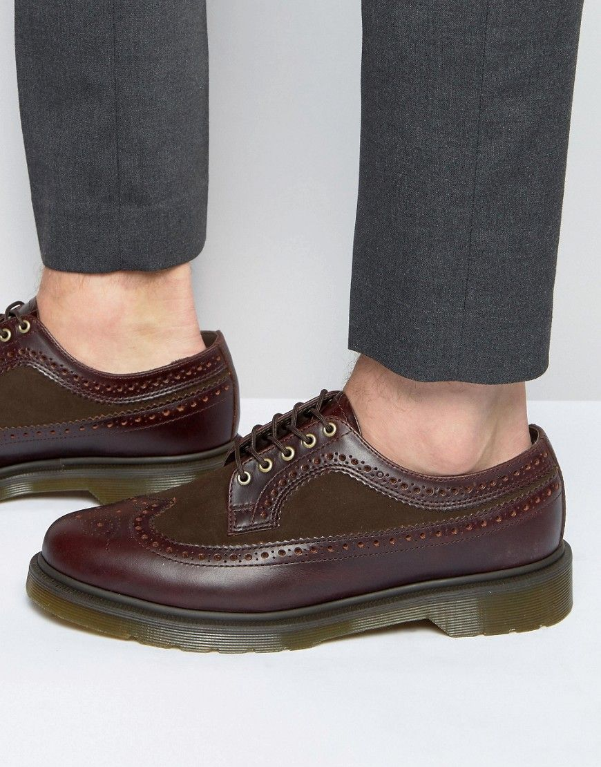 image 1 of dr martens 3989 brogue shoes my style pinterest dr martens and brogues. Black Bedroom Furniture Sets. Home Design Ideas
