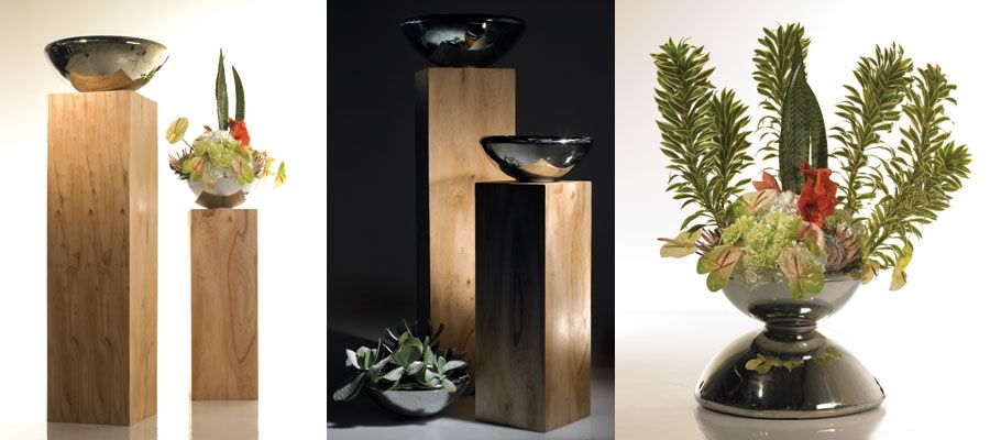 Large Stainless Steel Planters For The Home #home #decor