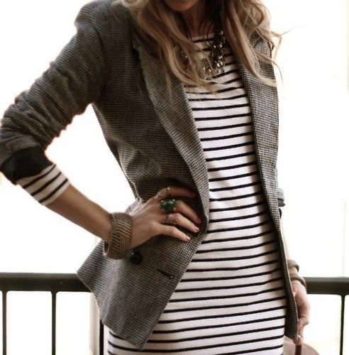 blazer && stripes ..