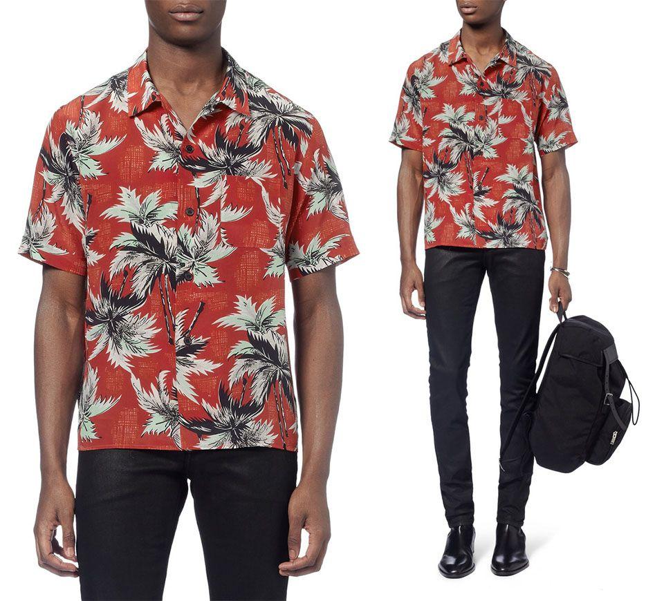 00e4882630a adam levine hawaiian shirt - Google Search Aloha Shirt, Adam Levine, Saint  Laurent Paris