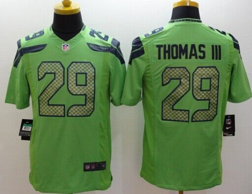 Sale Seahawks Men's #29 Earl Thomas III Green Limited jersey Size M only 1pcs available