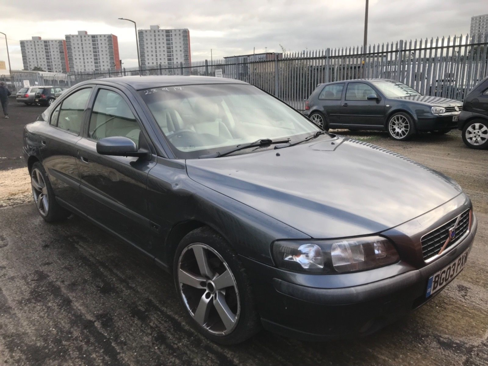 eBay: 2003 Volvo S60 D5 2.4 sel Unrecorded Salvage Light wing ...