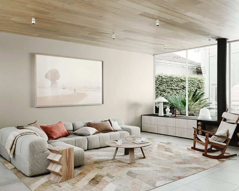 Cimonalisa On Twitter Neutral Interior Design Dulux Colour Interior Living room design trends 2021