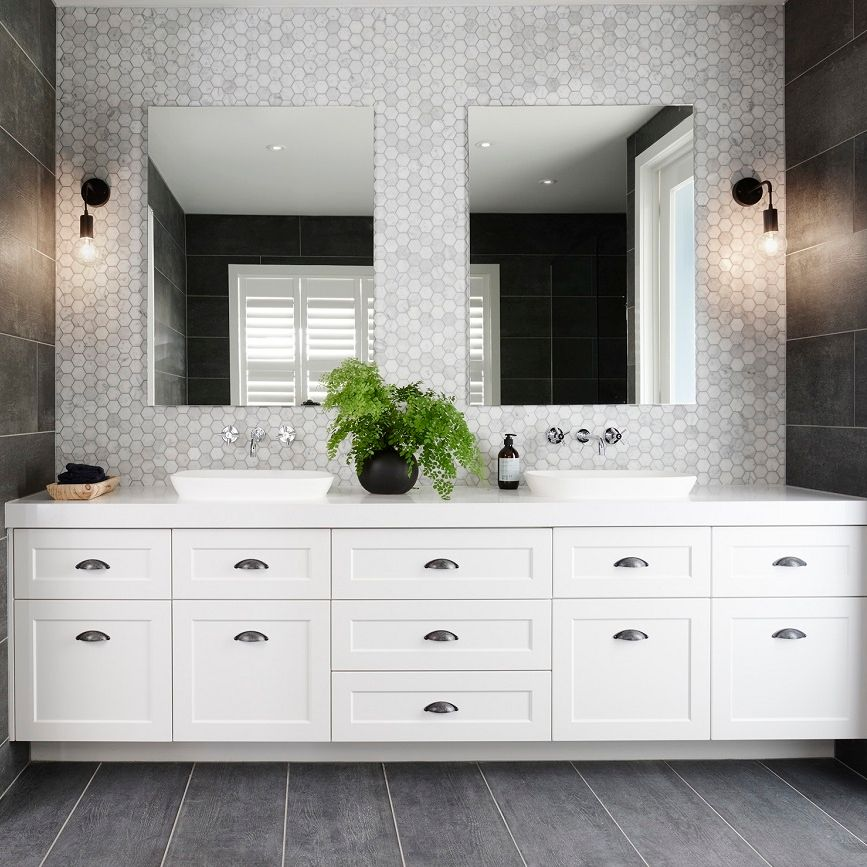 Caromaaustralia Fixtures And Fittings Are Included Standard In Every Boutique Bathroom We Love Hampton Style Bathrooms Bathroom Styling Bathroom Inspiration