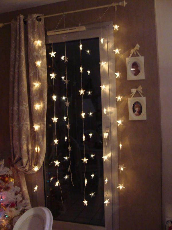 luces cortinas navidad Navidad Casa Pinterest Black sheep
