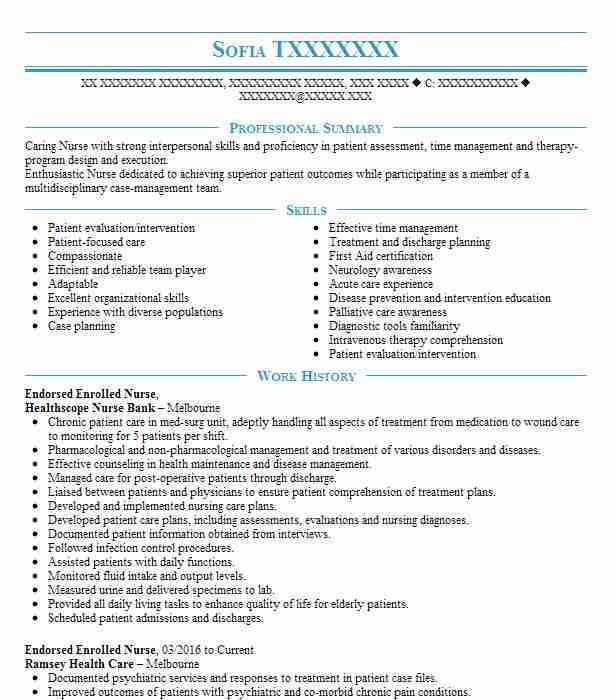 Ahpra Cv Example Nurse Best Resume Examples In 2021 Nursing Resume Template Good Resume Examples Medical Resume Template