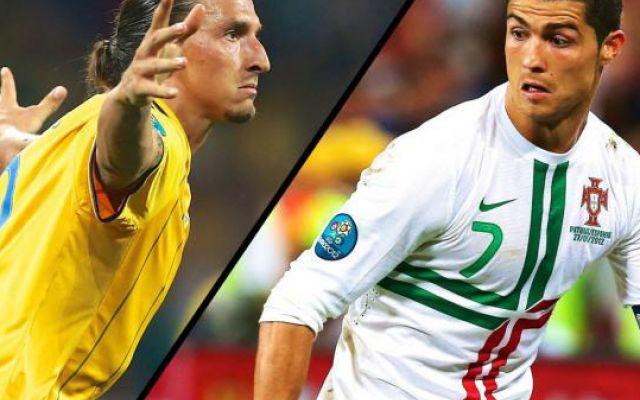 La sfida tra Portogallo e Svezia è soprattutto Cristiano Ronaldo contro Ibrahimovic #cristiano #ronaldo # #ibrahimovic # #svezia