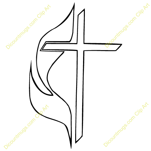methodist cross and flame clip art alternative clipart design u2022 rh extravector today