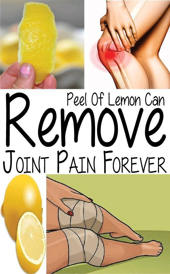 Natural Ways To Remove Joint Pain Immediately