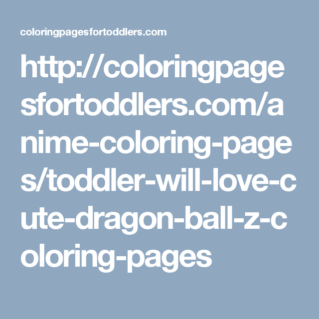 http://coloringpagesfortoddlers.com/anime-coloring-pages/toddler ...