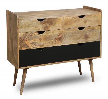 Komoda Drewniana Oslo W Stylu Skandynawskim Unodesign Komody Chest Of Drawers Pine Bedroom Furniture Drawers