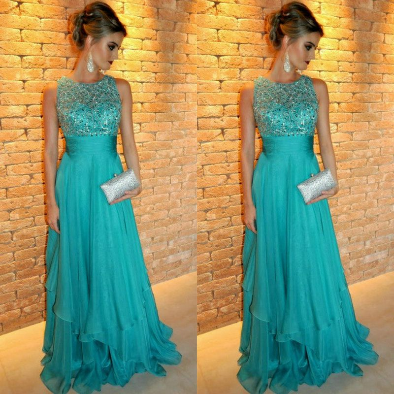 c4a5ab838 vestido longo azul turquesa - Pesquisa Google | linda em 2019 ...