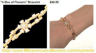 Bracelets:A Box of Flowers