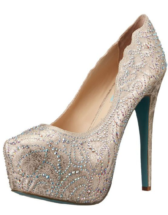 Blue by Betsey Johnson SB-LUCIA Dress Pumps | Zapatos, Rosas y ...