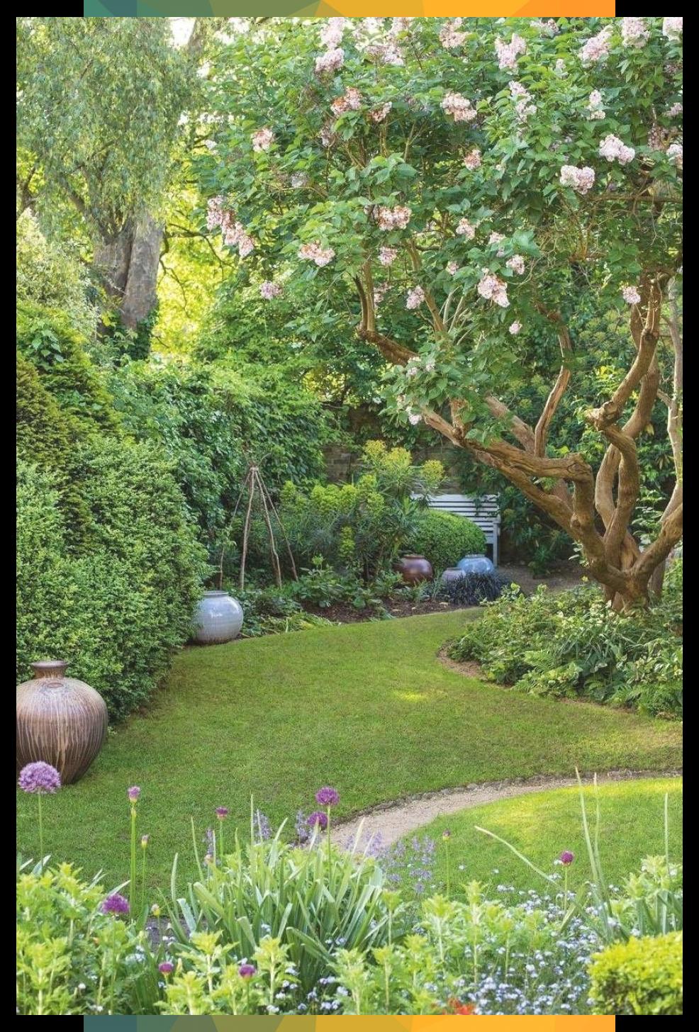 Kleiner Garten Machen Sie Das Beste Aus Ihren Lieblingsecken Garten Inspi In 2020 Small Garden Design Small Gardens Front Yard Landscaping