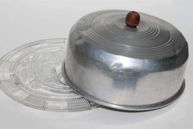 Vintage 1940/'s cake plate.