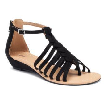 6c7ba56ed895 At Kohls - Apt.+9+Women s+Braided+Demi+Wedge+Sandals
