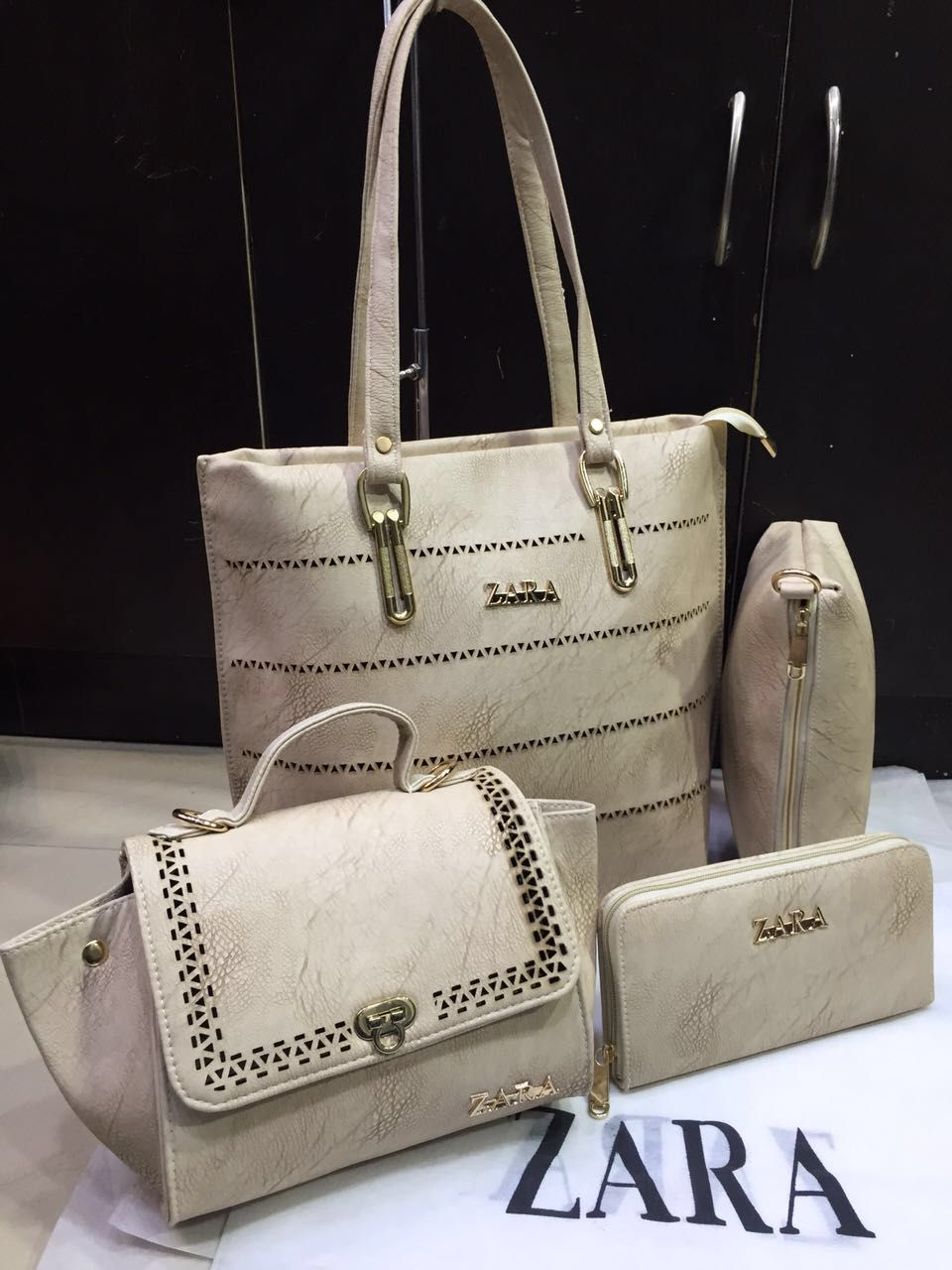 b4beb40dc90f Zara Bags, 4 set Combo, 7 colours | Branded Products For Sale Call /  Whatsapp @ +919560214267.