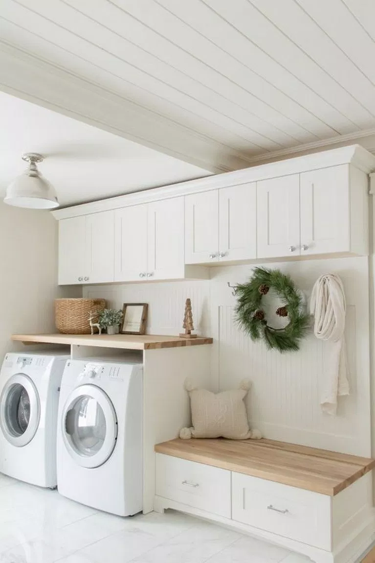 56 Amazing Laundry Room Decorating Ideas To Inspire You 36