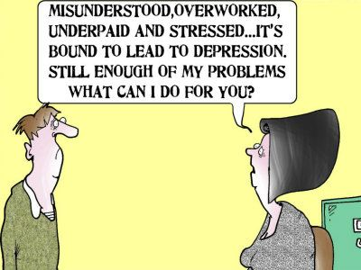 TRAINING CARTOONS BY UK BUSINESS CARTOONIST FRAN ORFORD |Funny Cartoons Supervision