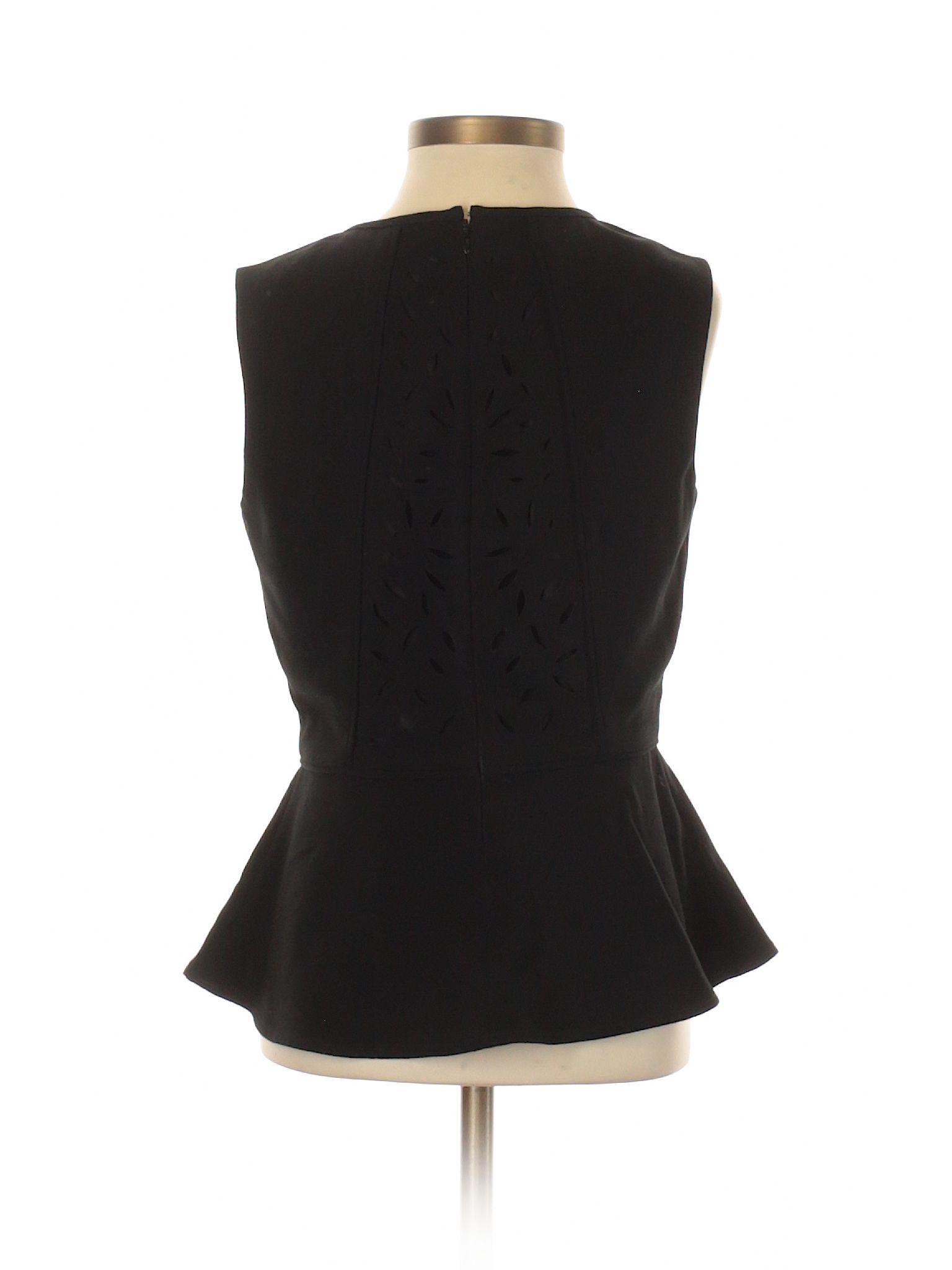 bf7db9740eaba7 Banana Republic Factory Store Sleeveless Blouse  Size 0.00 Black Women s  Tops -  6.99
