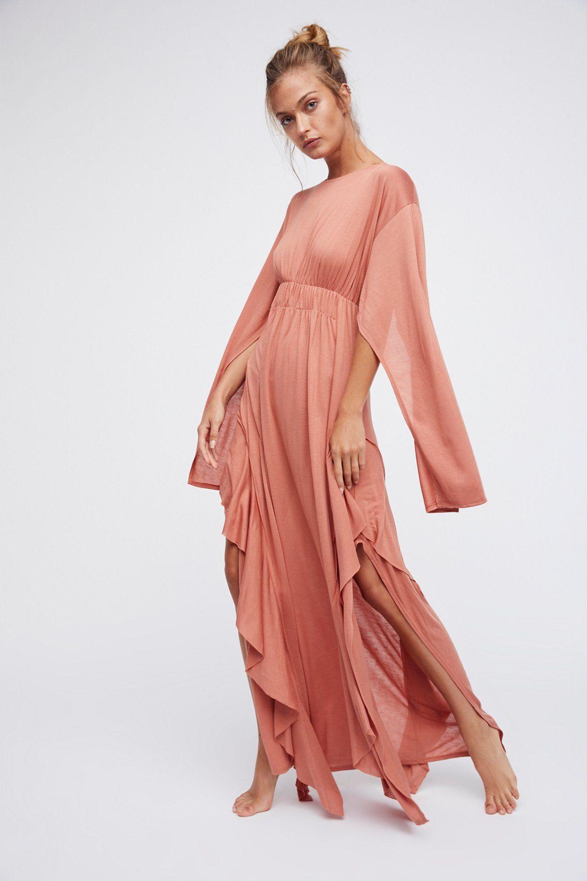 Fantasy maxi dress fashion pinterest ruffle trim cape and