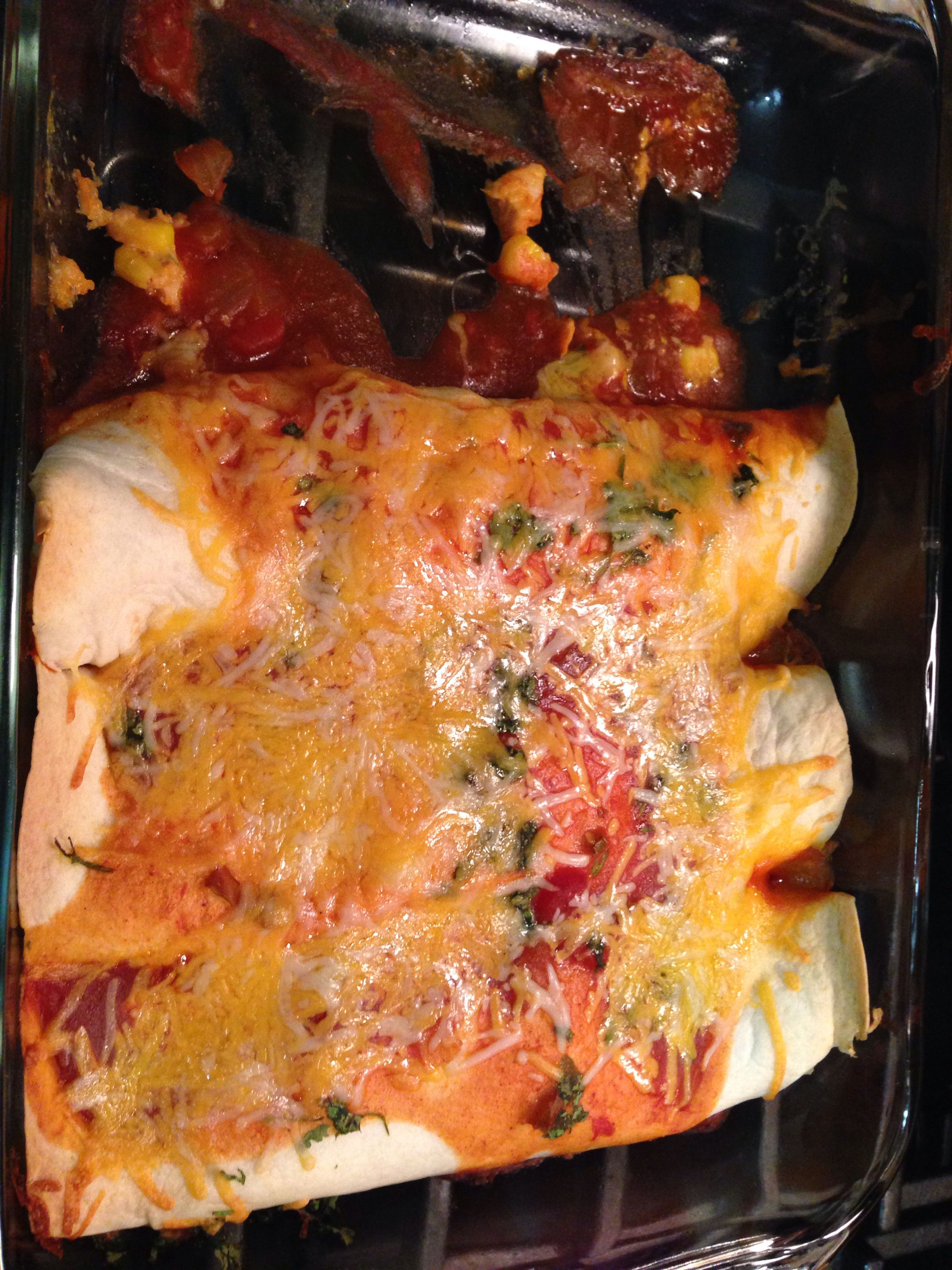 Chicken Enchiladas!