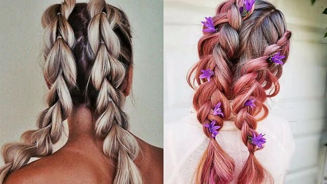 DIY Hair Hacks Every LAZY PERSON Should Know! Quick & Easy Hairstyles for School! #002 (With ...