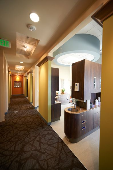 Dental Operatory At Cherry Hills Dental Associates In Englewood, CO. A Dec  Central Cabinets.
