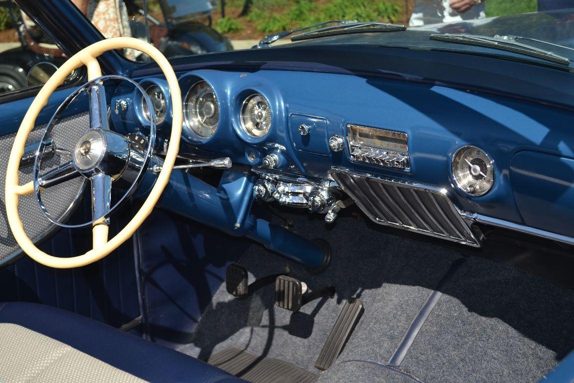 1956 desoto firedome seville 4 door hardtop 1 of 10 - 1953 Blue Desoto Firedome Convertible Dash
