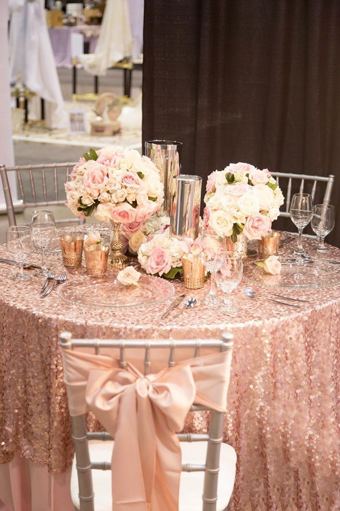 42 Glamorous Rose Gold Wedding Decor Ideas | Wedding Forward -  42 Glamorous Rose Gold Wedding Decor Ideas � rose gold wedding decor chic table decor Adam Frazie - #cuteoutfits #cuteweddingdress #Decor #fashionjewelry #fashiontrends #Glamorous #Gold #ideas #pandoracharms #pandorarings #rose #trendyoutfits #WEDDING #weddingbride