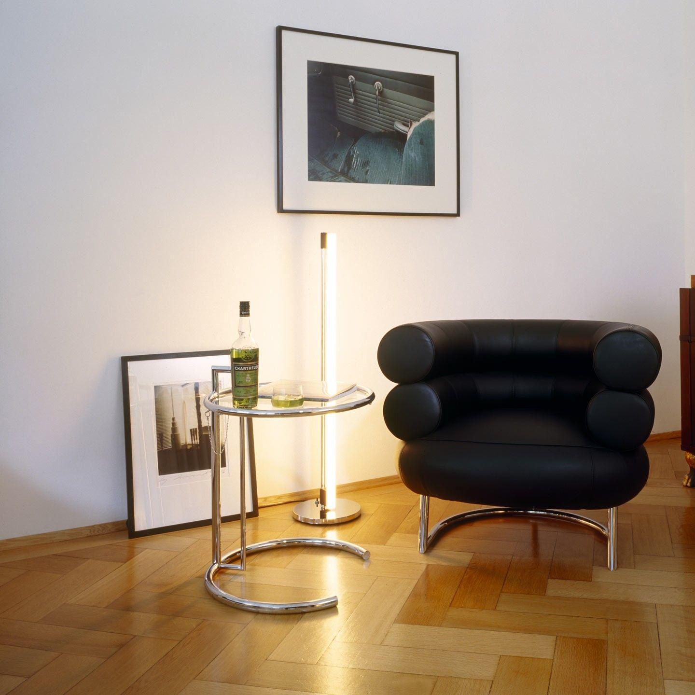 eileen gray e1027 side table bibendum chair. Black Bedroom Furniture Sets. Home Design Ideas