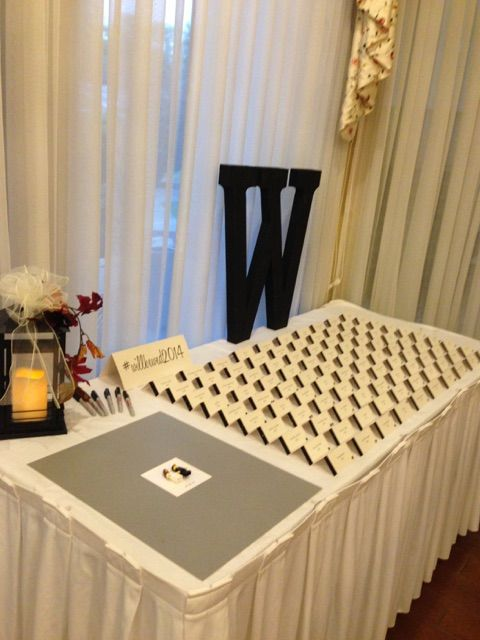 Registration Table Decor Pittsburgh Wedding Venue Comfort