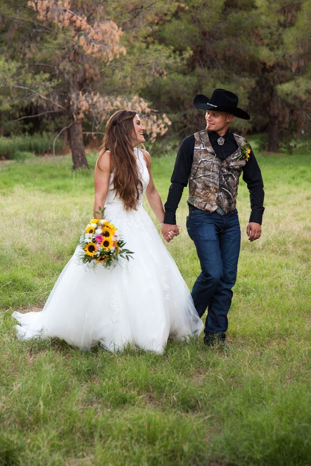 Our Perfect Country Wedding Camo Sunflowers Rustic Country Camouflage Wedding Country Wedding Groom Country Camo Wedding