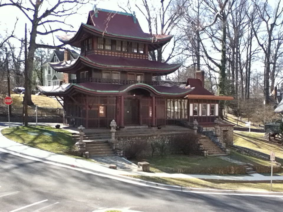 The pagoda house the forest glen seminary favorite for Pagoda house plans