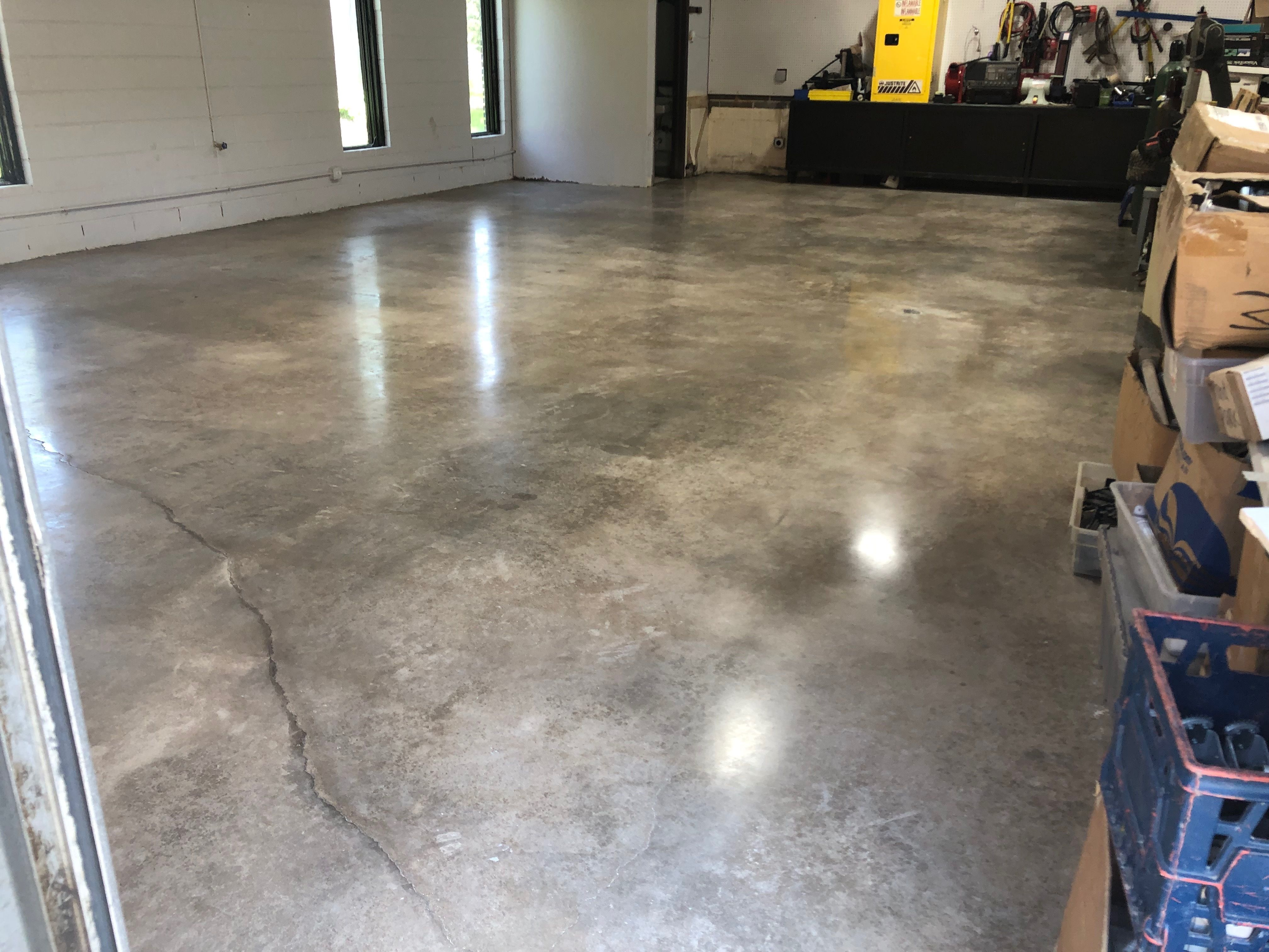 Concrete Polishing Staining