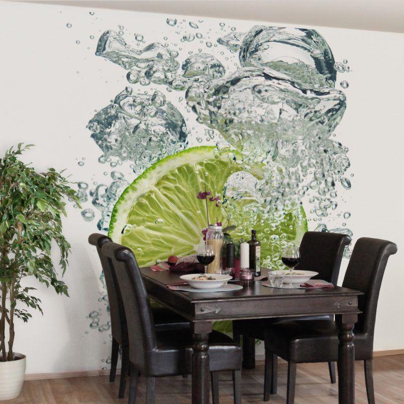 Tapeten für Küche - 23 frische Ideen - Esszimmer, Innendesign - esszimmer gestalten tapeten ideen