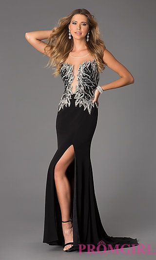 Floor Length Sleeveless JVN by Jovani Dress at PromGirl.com | Prom ...