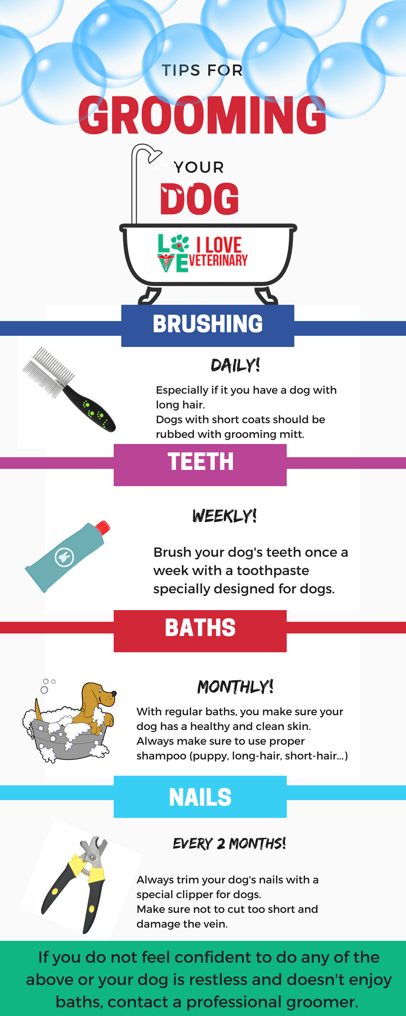 Tips For Grooming Your Dog I Love Veterinary Grooming Pet Health Care Veterinary