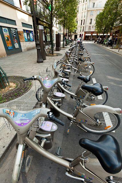 Paris Hire Bikes Bike Paris Paris Street