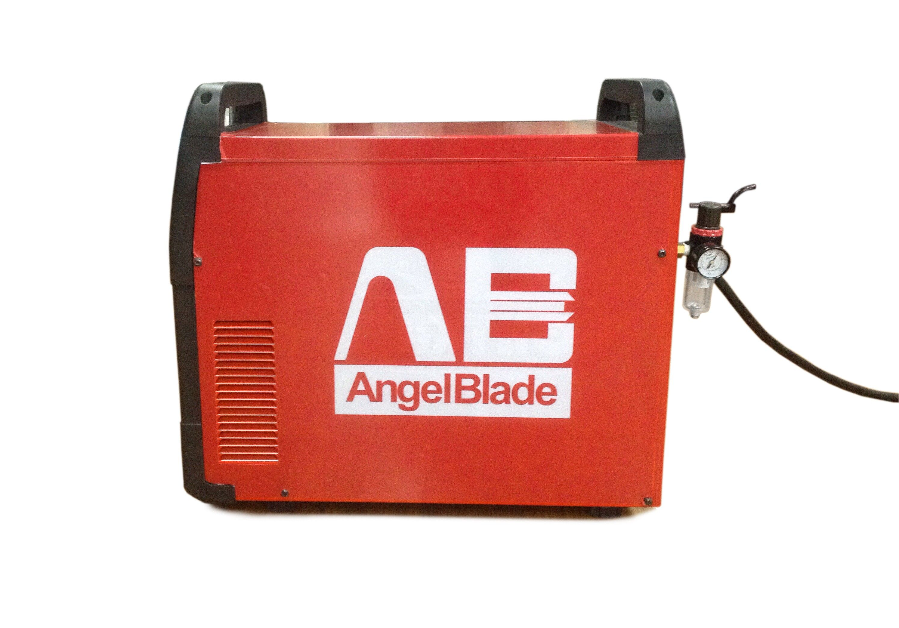 Front view of AngelBlade air plasma cutter. Send emails to sales@abplasma.com for more info.