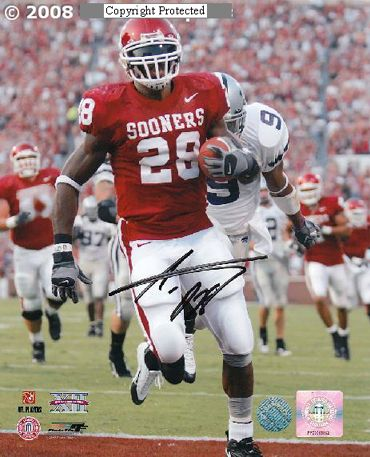 adrian peterson signed ou jersey