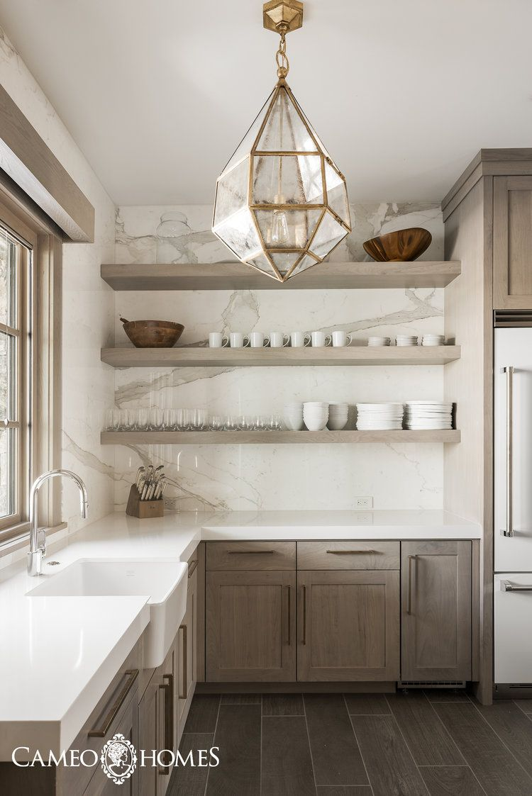 Butler's Pantry Fit for a King — CAMEO HOMES