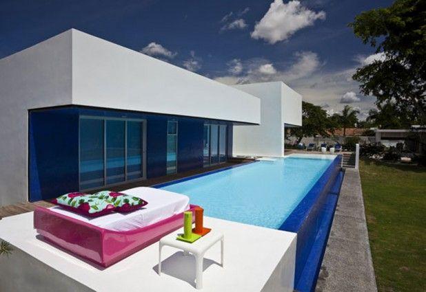 Decoracion Impresionantes Piscinas Exteriores Ideas De Decoracion - Decoracion-piscinas-exteriores
