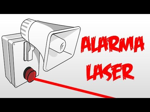 Alarma Laser De Barrera Super Facil Youtube Electronics Projects Diy Arduino Circuit Projects