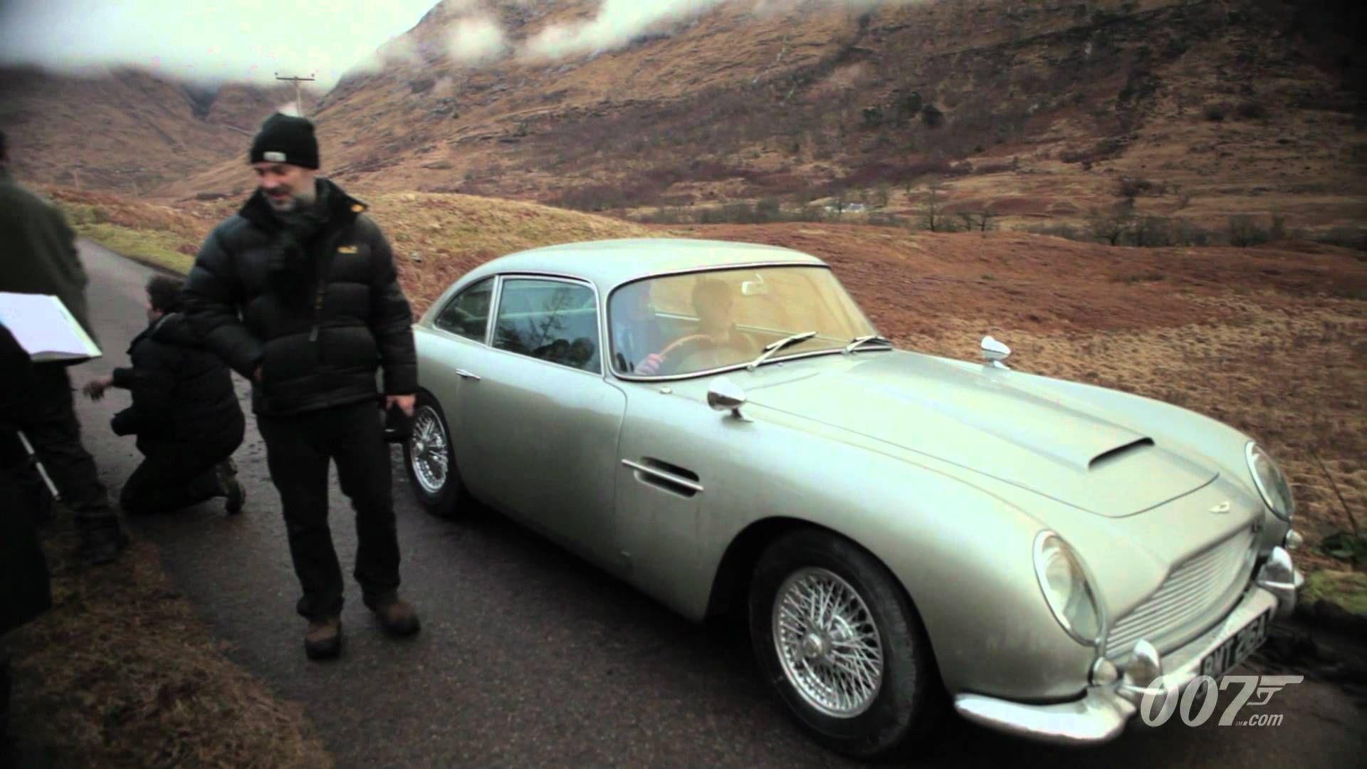 Aston Martin Db5 Skyfall Wallpaper