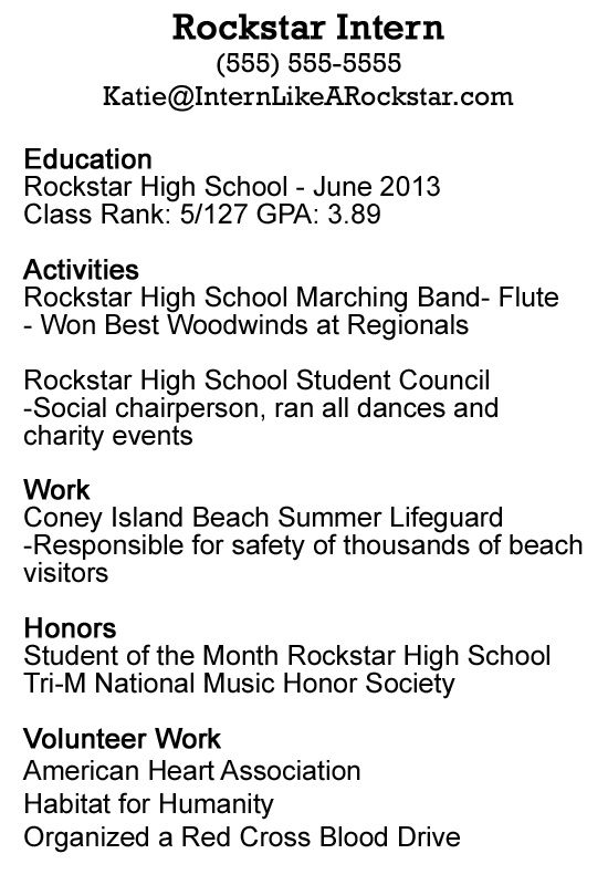 Write Resume First Time With No Job Experience - Http://Www