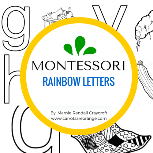 Rainbow Letters FREE COVER