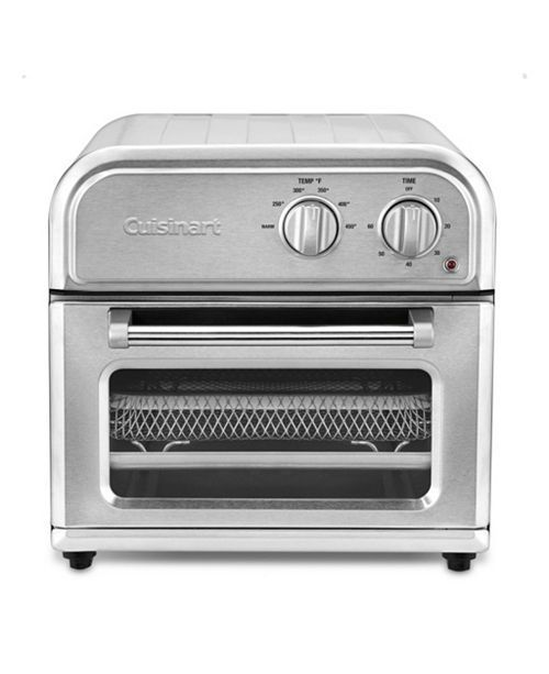 Cuisinart Afr 25m Compact Air Fryer Oven Reviews Kitchen Gadgets Kitchen Macy S Stainless Steel Oven Toaster Oven Stainless Steel Counters