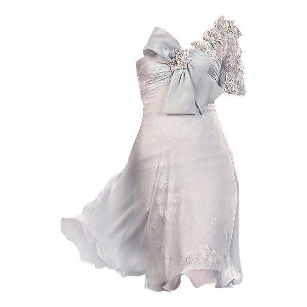 Pierre Katra dress - by Satinee found on Polyvore